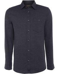 Jack & Jones - Button-through Long-sleeve Cotton Shirt - Lyst