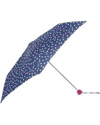 Radley - Vintage Dog Dot Telescopic Umbrella - Lyst