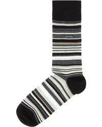 Calvin Klein - Barcode Multi Stripe Socks - Lyst