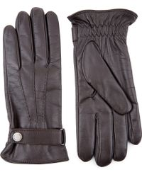 Jaeger - Touch Leather Classic Gloves - Lyst