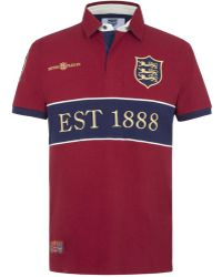 Ellis Rugby - British Isles Polo Shirt - Lyst