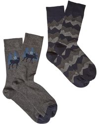 White Stuff - Men's Moose And Mountain 2 Pack - Lyst