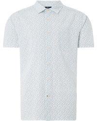 Howick - Men's Natical Geo Print Short Sleeve Shirt - Lyst