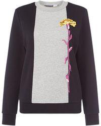 Sportmax Code - Patella Floral Sweatshirt - Lyst