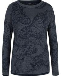 Olsen - Pullover Flower Pattern - Lyst