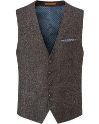 Skopes - Copley Wool Blend Waistcoat - Lyst