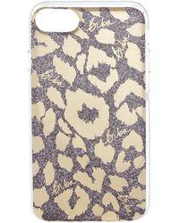 Biba - Leopard Foil Phone Case - Lyst