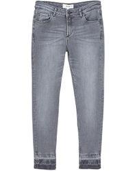 Mango | Faded Slim Jeans | Lyst