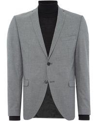 SELECTED - Mylo Logan Plain Weave Suit Jacket - Lyst