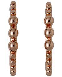 Pilgrim - Bluebell Rose Gold Plated Earrings - Lyst