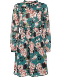 Part Two - Koko Twist Neck Detail Dress - Lyst