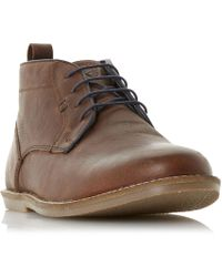 Howick | Craggle Rock Lace Up Piped Boots | Lyst