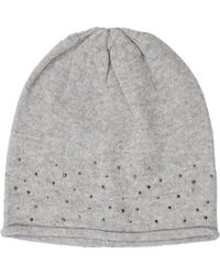 Stefanel - Hat With Applications - Lyst