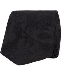 Alexandre Of England - Airwelle Black Paisley Tie - Lyst