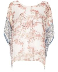 Izabel London - Blossom Print Top - Lyst