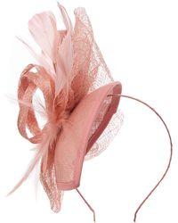 Suzanne Bettley   Feather Teardrop Fascinator   Lyst