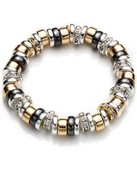 Nine West - Roundel Stretch Bracelet - Lyst