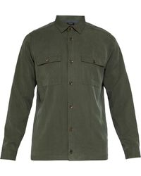 Ted Baker - Men's Mimmy Ls Tencel Shirt - Lyst