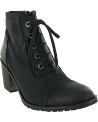 Marta Jonsson - Nubuck Ankle Boot With Laces - Lyst