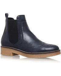 Carvela Kurt Geiger - Slowest Flat Ankle Boots - Lyst
