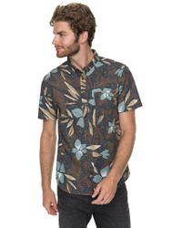 Quiksilver - Men's Short Sleeve Shirt - Lyst