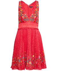 French Connection - Amity Lace Flared Dress - Lyst