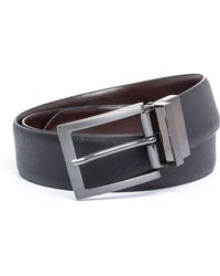 Bäumler - Arnold Textured Leather Formal Belt - Lyst