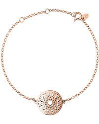 Links of London - Timeless 18ct Rose Gold Vermeil Bracelet - Lyst