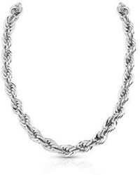 Guess - Dream Girl Chain Necklace - Lyst