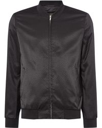 Label Lab - Men's Jacquard Bomber - Lyst