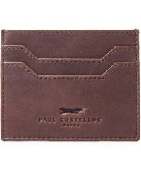 Paul Costelloe - Holland Leather Card Holder - Lyst