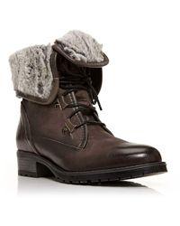 Moda In Pelle - Balma Worker Boots - Lyst
