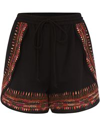 Biba - Embroidered Short - Lyst