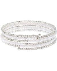 Coast - Alma Pearl Wrap Bracelet - Lyst