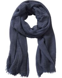 Betty Barclay - Crinkle Textured Scarf - Lyst