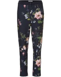 Betty Barclay - Floral Print Trousers - Lyst