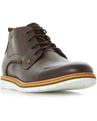 Dune - Chandler Col Pop Sole Wedge Chukka Boots - Lyst