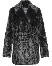 French Connection | Nariko Faux Fur Coat | Lyst