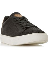 Dune - Toure Knitted Cupsole Trainers - Lyst