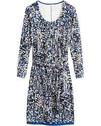 Sandwich - Belted Jersey Dress - Lyst