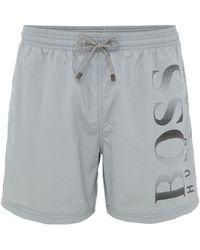 BOSS | Men's Sw Sh Octopus Short Side Logo Swimshorts | Lyst