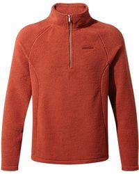 Craghoppers | Men's Barston Half Zip Fleece | Lyst