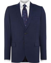 PS by Paul Smith | Wool Slim Fit Prince Of Wales Checked Suit Jacket | Lyst