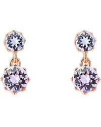 Ted Baker - T147024188 Connolee Crown Earrings - Lyst