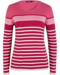 Olsen - Pullover Horizontal Stripes - Lyst
