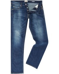 Replay - Men's Grover Super Stretch Straight Fit Jeans - Lyst