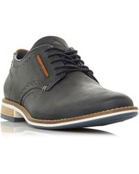Dune - Brewer Piped Gibson Casual Shoes - Lyst