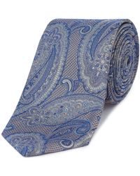 Ted Baker - Falcao Paisley Tie - Lyst
