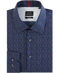 Simon Carter - Men's Triangle Print Shirt - Lyst