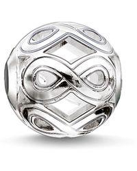 Thomas Sabo | Infinity Karma Bead | Lyst